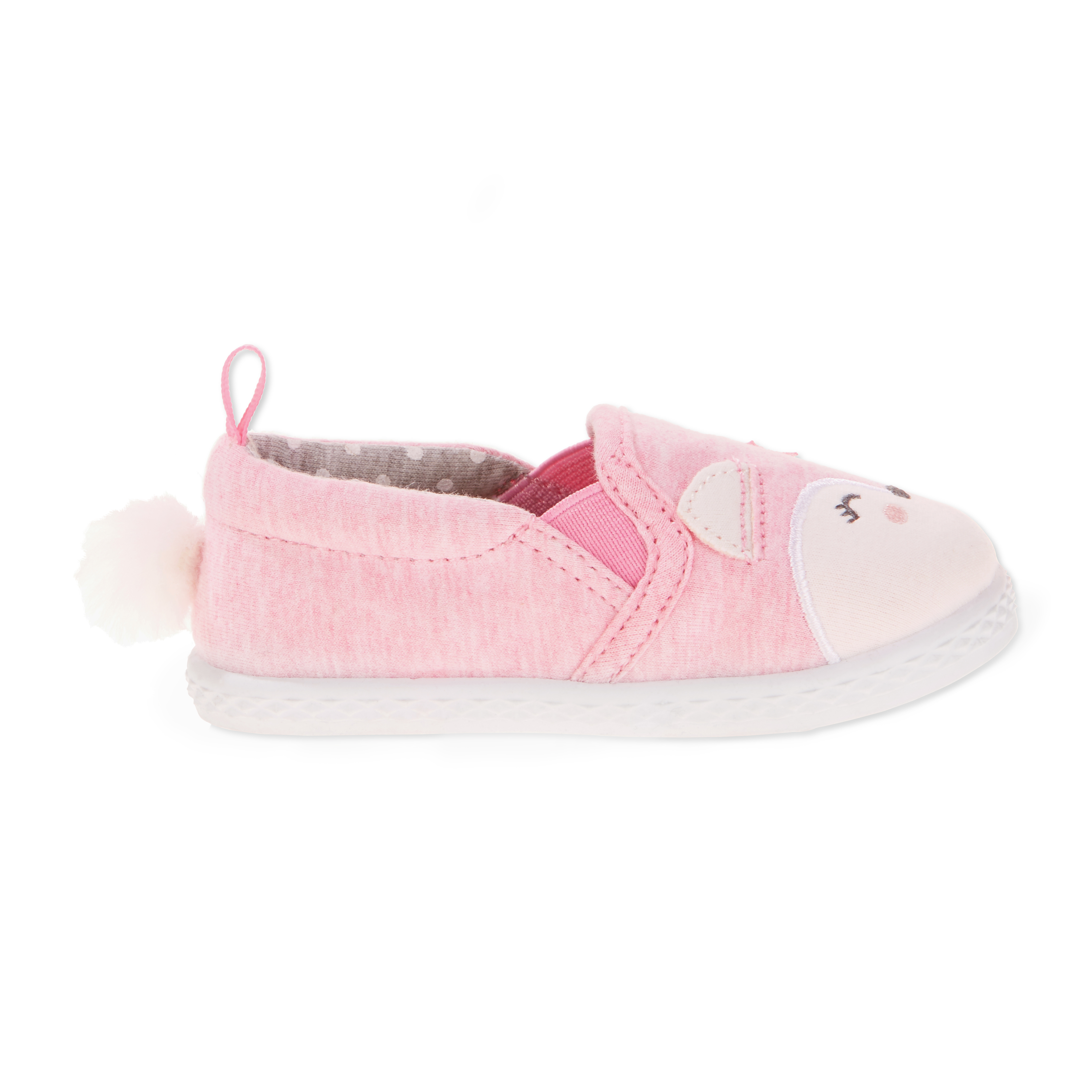 Baby Girls' Canvas Fox Slip-On by Generic