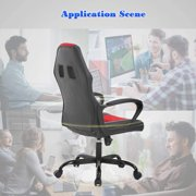 Ergonomic Office Chair Desk Chair PC Gaming Chair Rolling PU Leather Swivel Chair Executive Computer Chair Lumbar Support for Women, Men(Blue) - image 3 of 7
