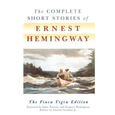 The Complete Short Stories Of Ernest Hemingway  Hardcover
