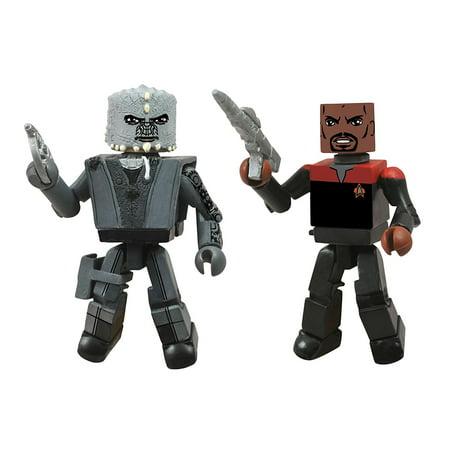 Toys Star Trek Legacy Minimates Series 1 Season 7 Captain Sisko and Jem Hadar Action Figure, A Diamond Select release By Diamond