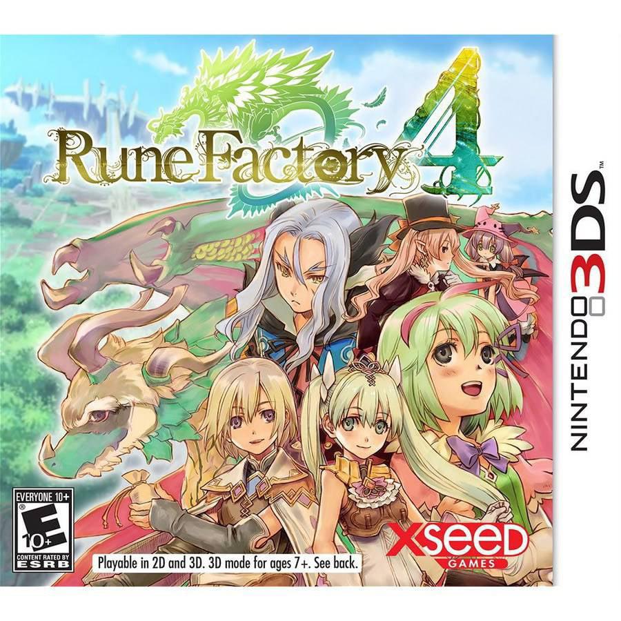 RUNE FACTORY 4 3DS ACTION