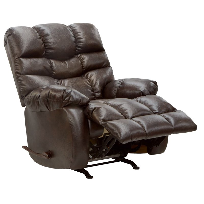 Catnapper Berman PU Chaise Rocker Recliner