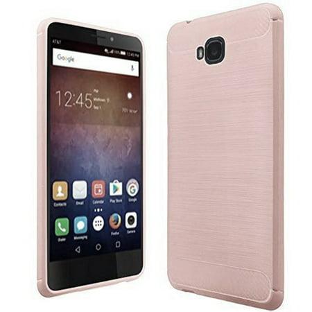 pretty nice 29bc1 69517 Huawei Ascend XT2 H1711 Case, SOGA [Brush TPU Gel] Soft Rubber Flexible  Skin Cover for Huawei Ascend Xt2 H1711, Huawei Elate 4g - Brown Rose