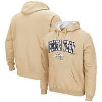Georgia Tech Yellow Jackets Colosseum Arch & Logo Pullover Hoodie - Gold