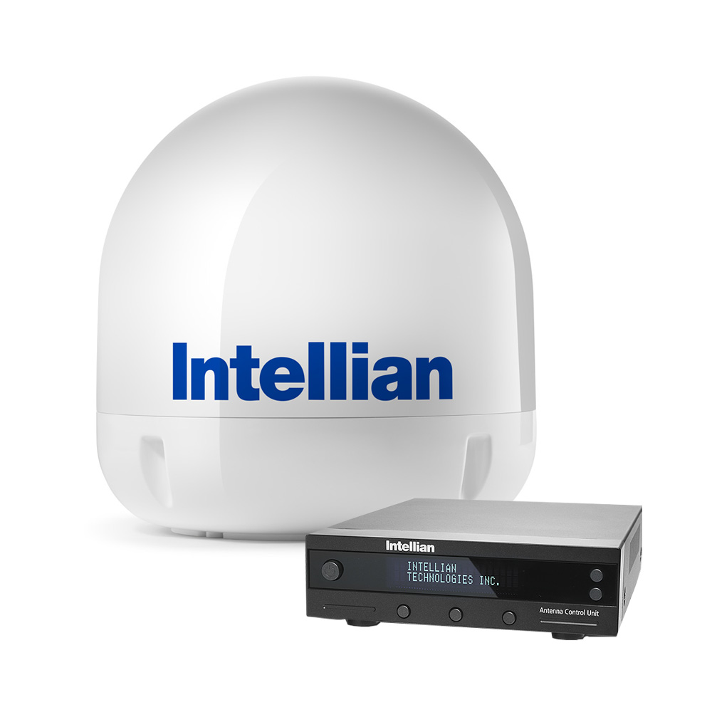 "INTELLIAN I6 SYSTEM 23.6"" DISH W/ ALL-AMERICAS LNB"