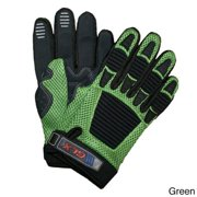 GLX Kids ATV Glove Green/XS