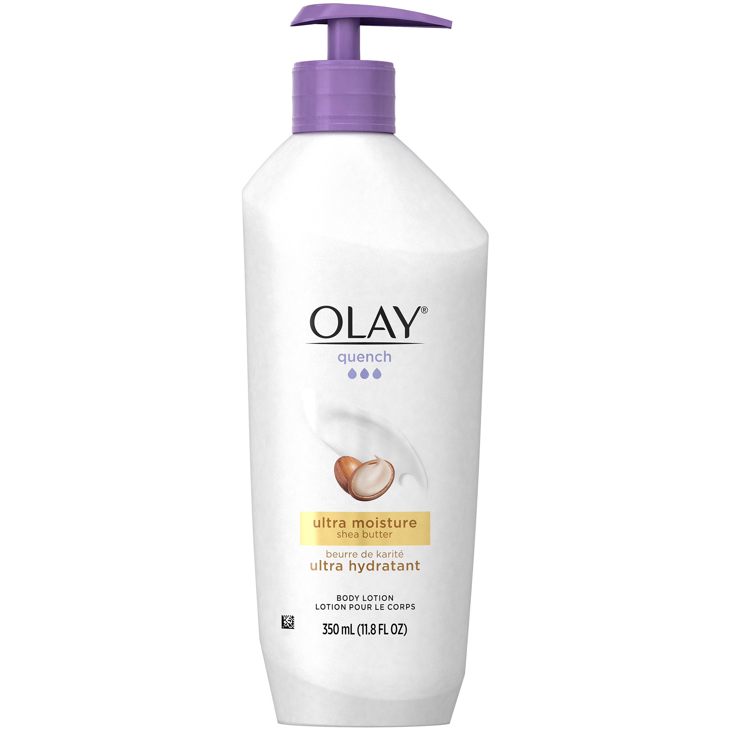Olay Quench Ultra Moisture Shea Butter Body Lotion, 11.8 fl oz