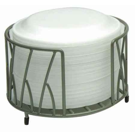 Plate Holder For Buffets Flint Powder-Coated Metal - 10