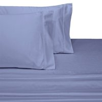 Extra Pair Of King Pillowcases 600 Thread Count Solid %100 Cotton - Periwinkle