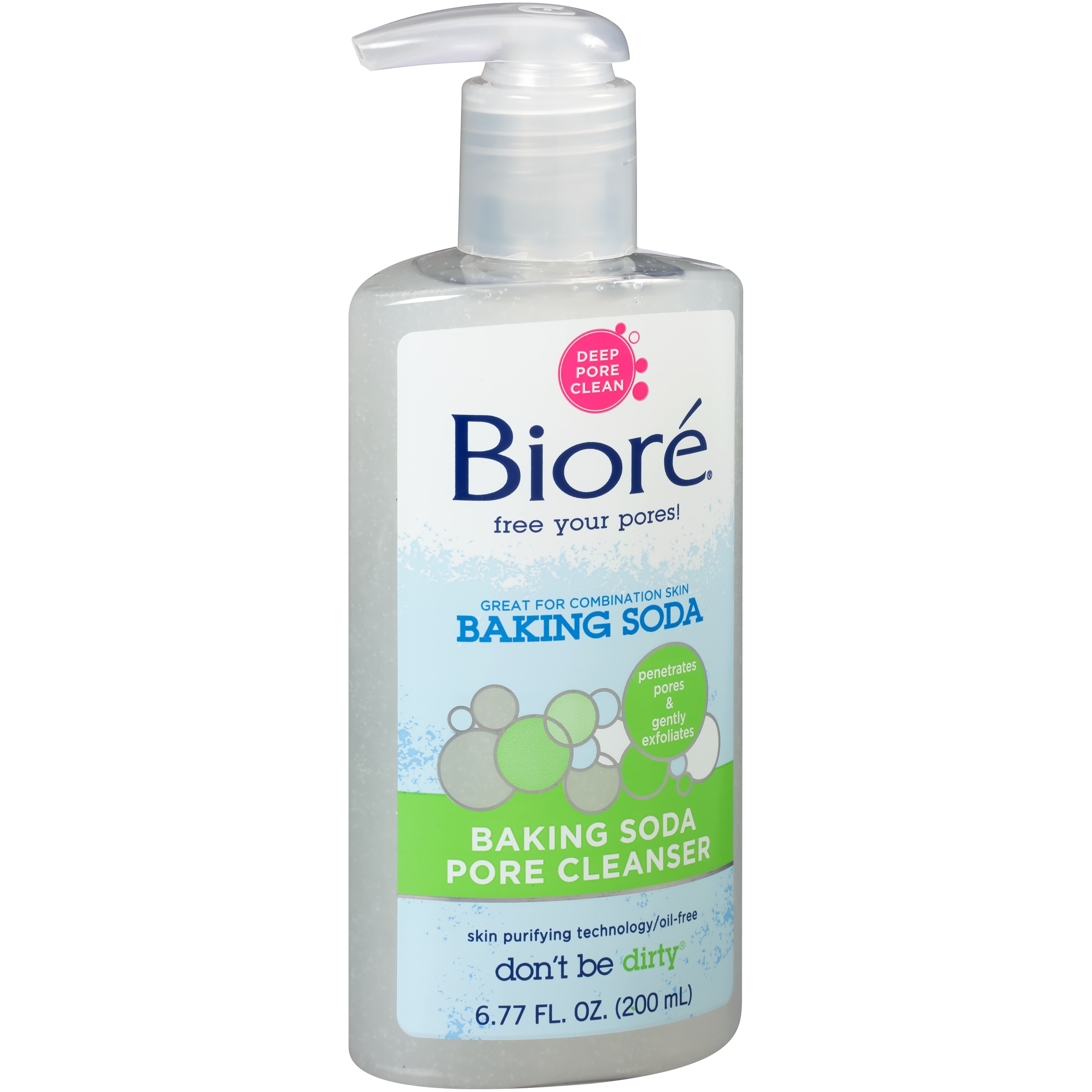 Biore® Baking Soda Pore Cleanser 6.77 fl. oz. Pump - Walmart.com