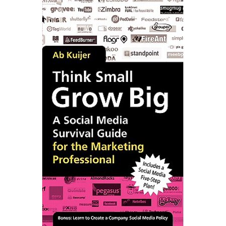 Think Small, Grow Big : A Social Media Survival Guide for the Marketing Professional - Social Media Professional Halloween