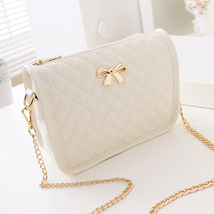 ac52a244ccf0 New Fashion Women Synthetic Leather Casual Bow Shoulder Bag Cross Bag  Handbag smt - Walmart.com