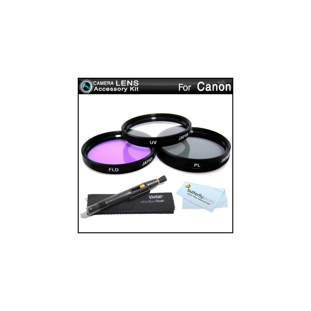 43mm Filter Kit For Canon Vixia Hf R800 Hf R82 Hf R80 Hf R60 Hf R600 Hf R700 Hf R72 Hf R70 Camcorder Includes Walmart Com Walmart Com