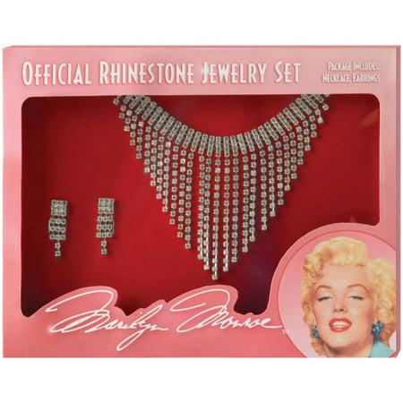 Marilyn Jewelry Set Halloween Accessory