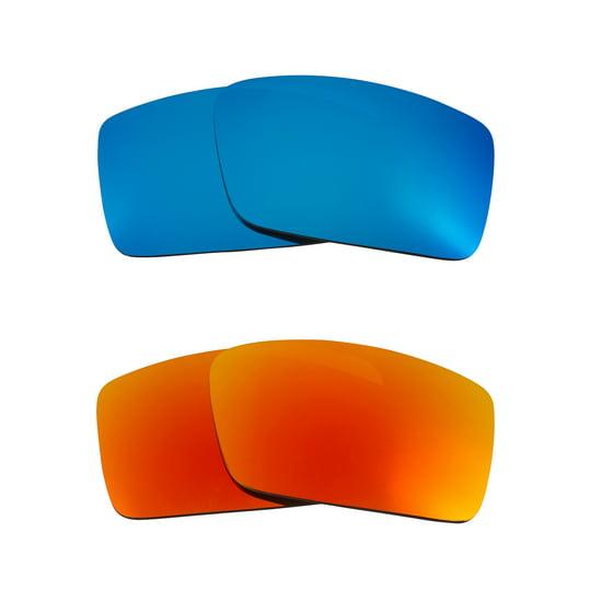 70180bb94beb2 Seek Optics - Best SEEK Replacement Lenses Oakley Sunglasses GASCAN S Small  Blue Yellow Mirror - Walmart.com
