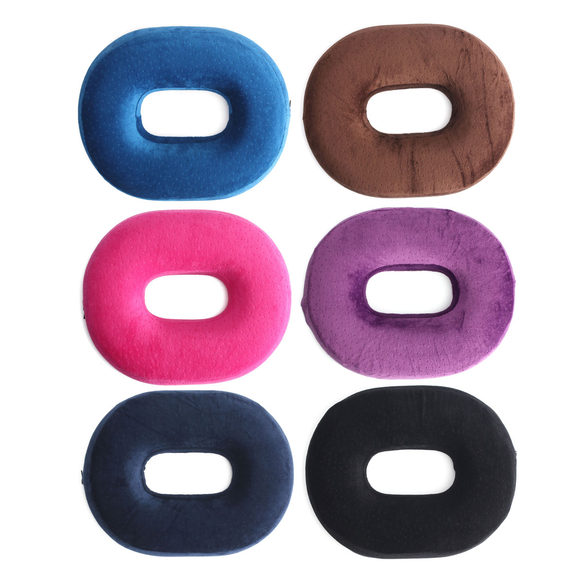 Pain Relief Support Ring Memory Foam Seat Cushion Comfort Sponge Donut Pillow Pad for Hemorrhoid Treatment, Back Coccyx & Tailbone Pain, Prostate