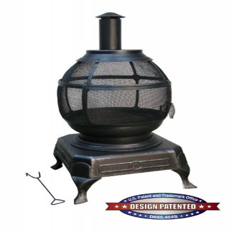 Deckmate Potbelly Outdoor Fireplace Model 30321