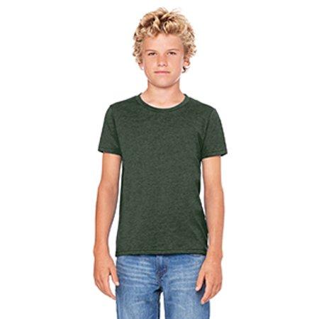 - Bella + Canvas Youth Jersey Short-Sleeve T-Shirt