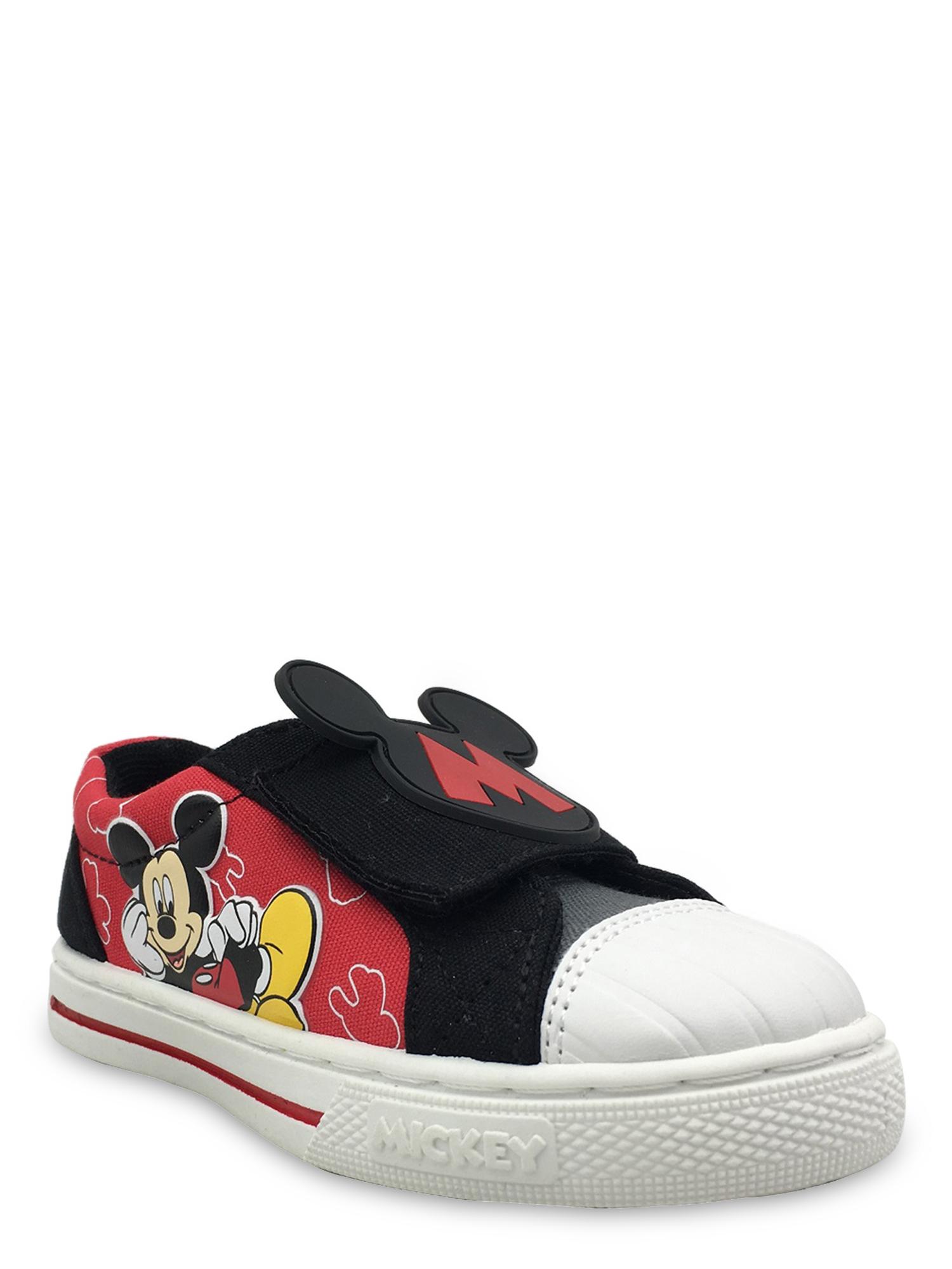 Mickey Mouse Cap Toe Casual Sn...