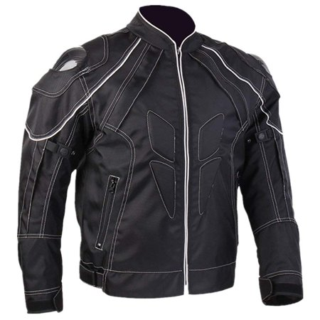 ILM Motorcycle Jackets with Carbon Fiber Armor Shoulder Motorbike Jackets fit for Men and Women ()