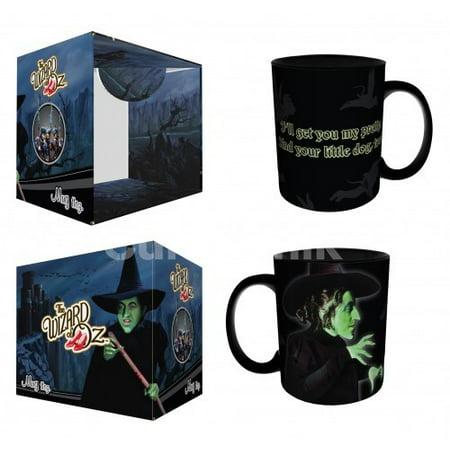 Culturenik - 11 oz Coffee Mug - Wizard of Oz - Wicked Witch - Get You My Pretty (Witchs Coffee)