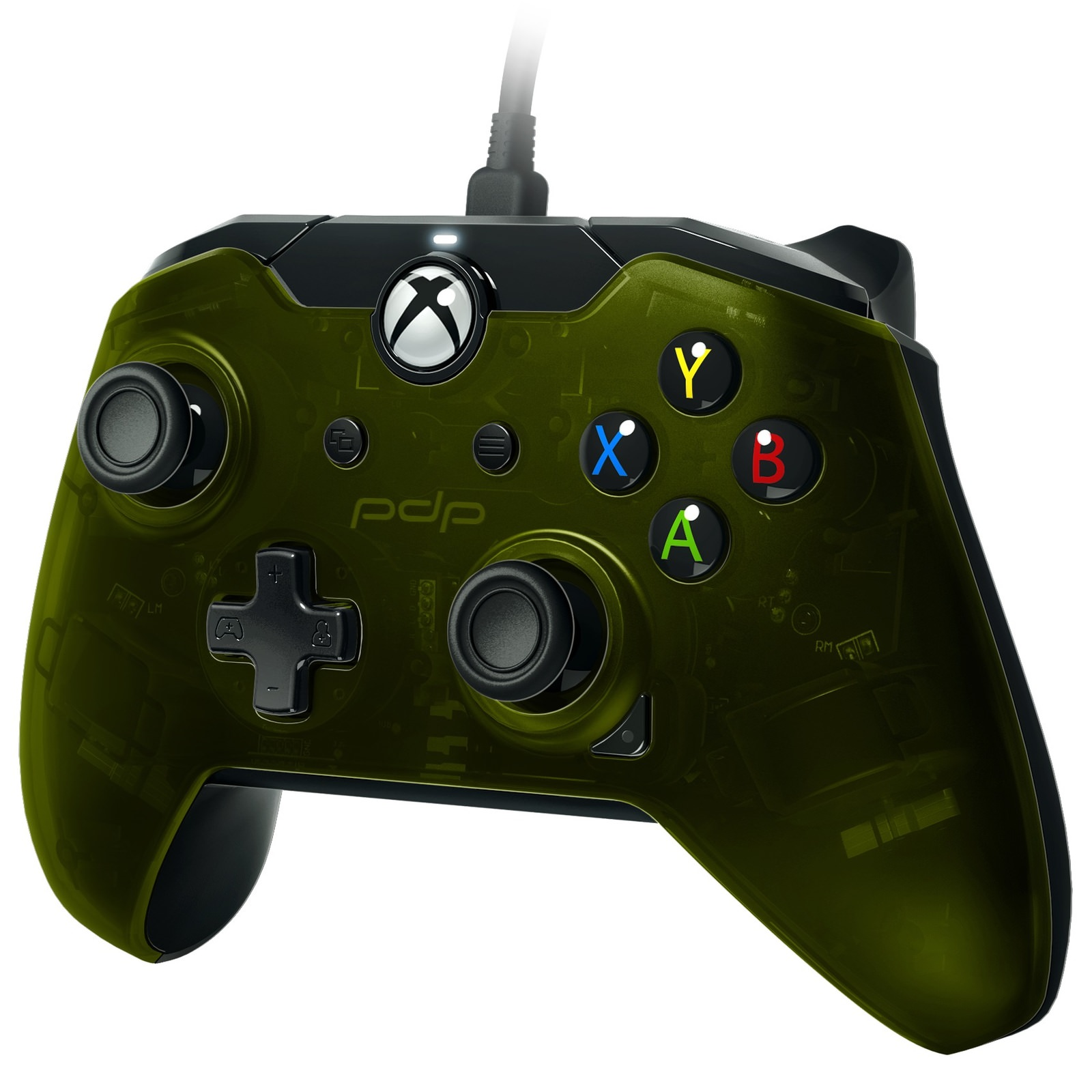 PDP Xbox One, Wired Controller, Verdant Green, 048-082-NA-GR