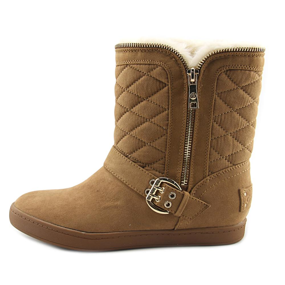 G By Guess Pursy  Round Toe Snow Boots