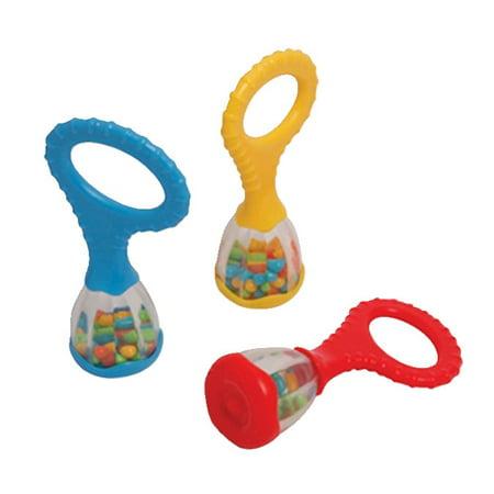 Edushape Instrument Mini Baby Maraca Set - 6](Baby Maracas)