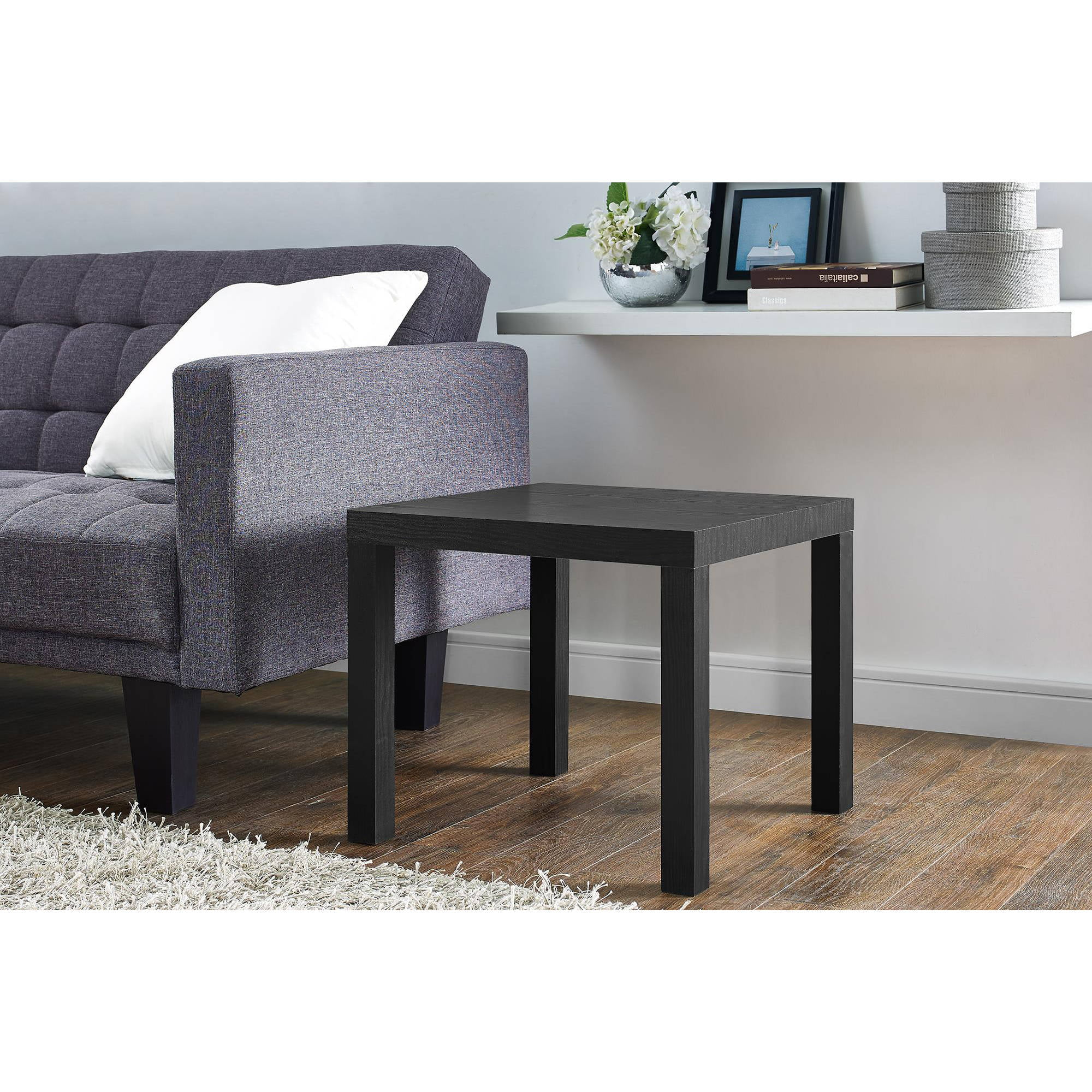 Mainstays Parsons End Table Multiple ColorsWalmartcom