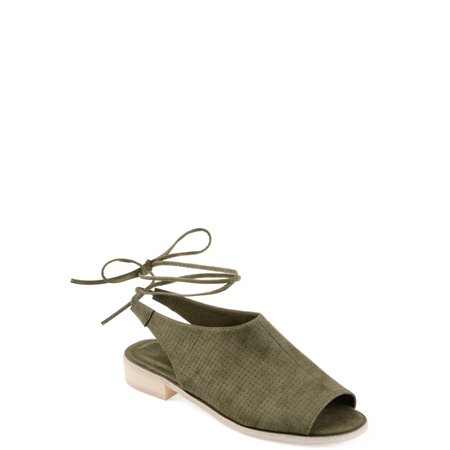 Mephisto Nubuck Sandals - Womens Faux Nubuck Slingback Open-toe Sandals