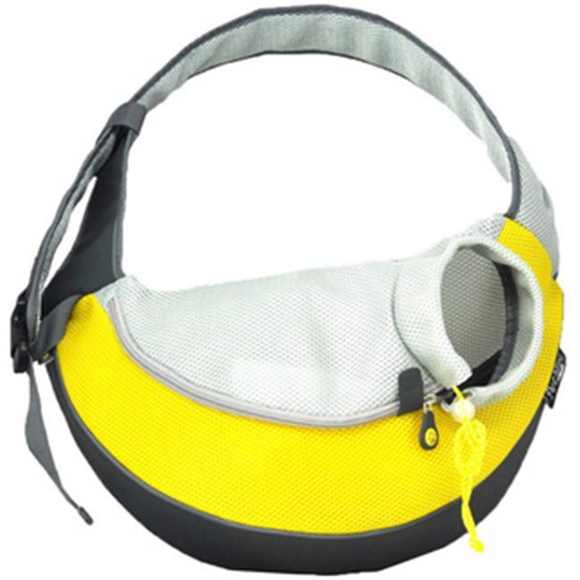 Wacky Paws WPC023-YW Pet Sling Carrier, Yellow, Small