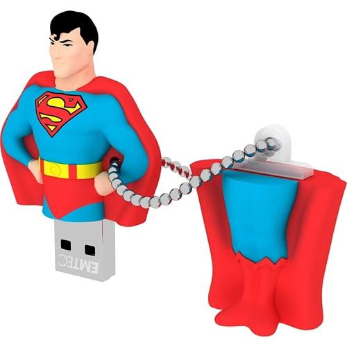 Emtec FLASH DRIVE 8GB USB2.0 SUPERMAN ECMMD8GSH100