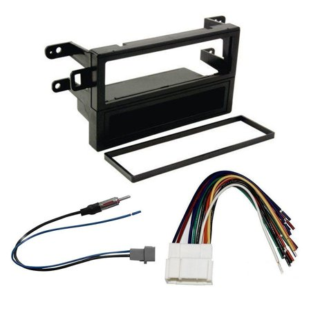 HONDA ACCORD 1998 - 2002 DASH KIT + WIRE HARNESS + RADIO ANTENNA ADAPTER ()