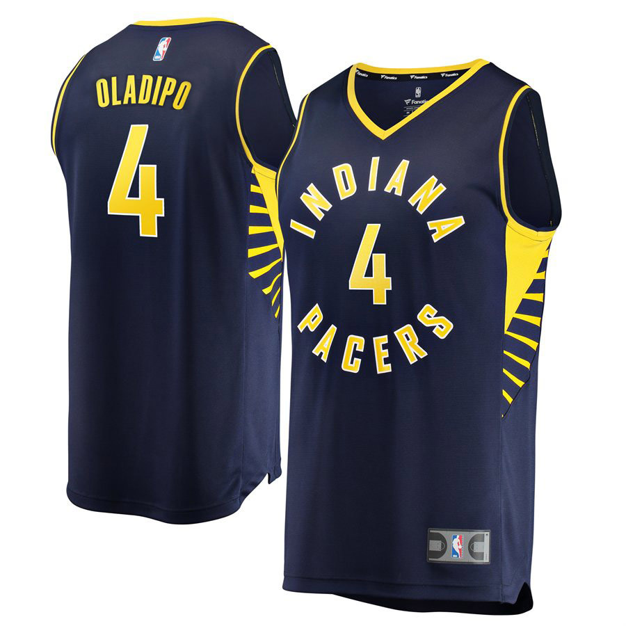 Victor Oladipo Indiana Pacers Fanatics Branded Fast Break Replica Jersey Navy - Icon Edition