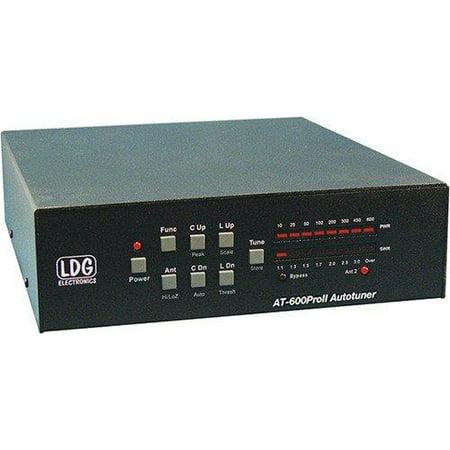 ldg electronics at-600proii automatic antenna tuner 1 8-54 mhz, 600 watts,  2 year warranty