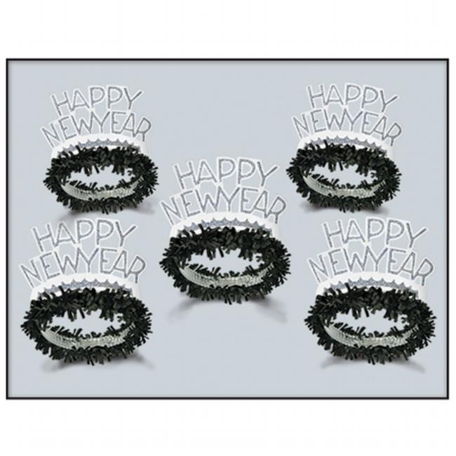mpany  Black & White Legacy Tiara - Pack of 50