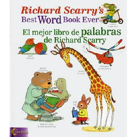 Richard Scarry's Best Word Book Ever/El Mejor Libro de Palabras de Richard Scarry - El Mejor Disfraz De Halloween