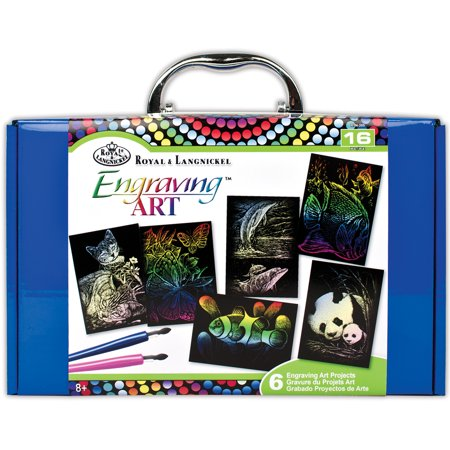 Royal & Langnickel Mini Engraving Art Box Sets, 16pc