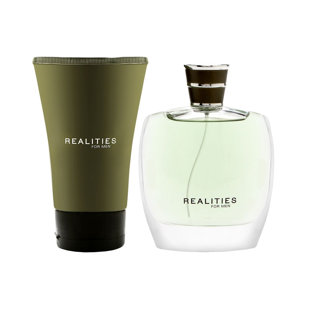 Realities by Realities Cosmetics for Men 2 Piece Set Incl...