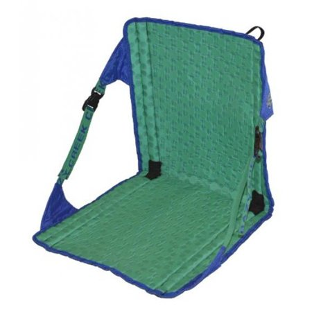 Crazy Creek Products HEX 2.0 Original Chair, Royal Blue/Emerald Green