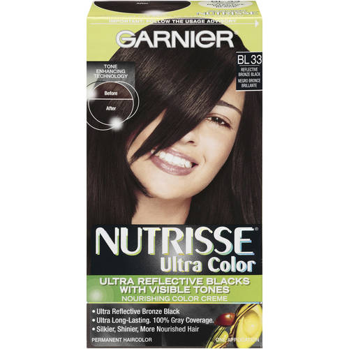 Garnier Nutrisse Ultra Color Nourishing Color Creme, BL 33 Reflective Bronze Black