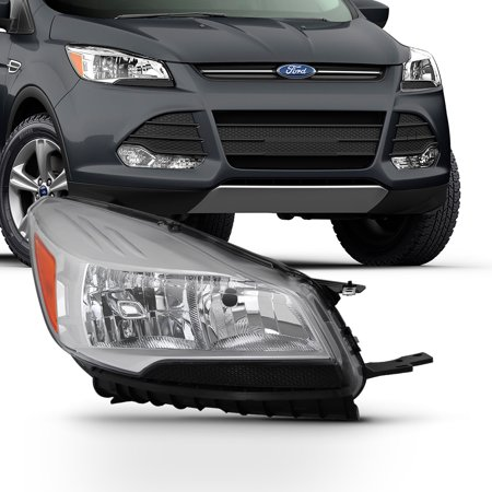 Fits 2013 2014 2015 2016 Ford Escape Passenger Right Side Headlight (2009 Ford Escape Shift Indicator Lamp Replacement)