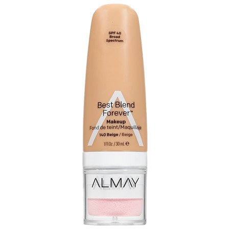 Almay Best Blend Forever Makeup, Beige 1.0 fl oz (Pack of