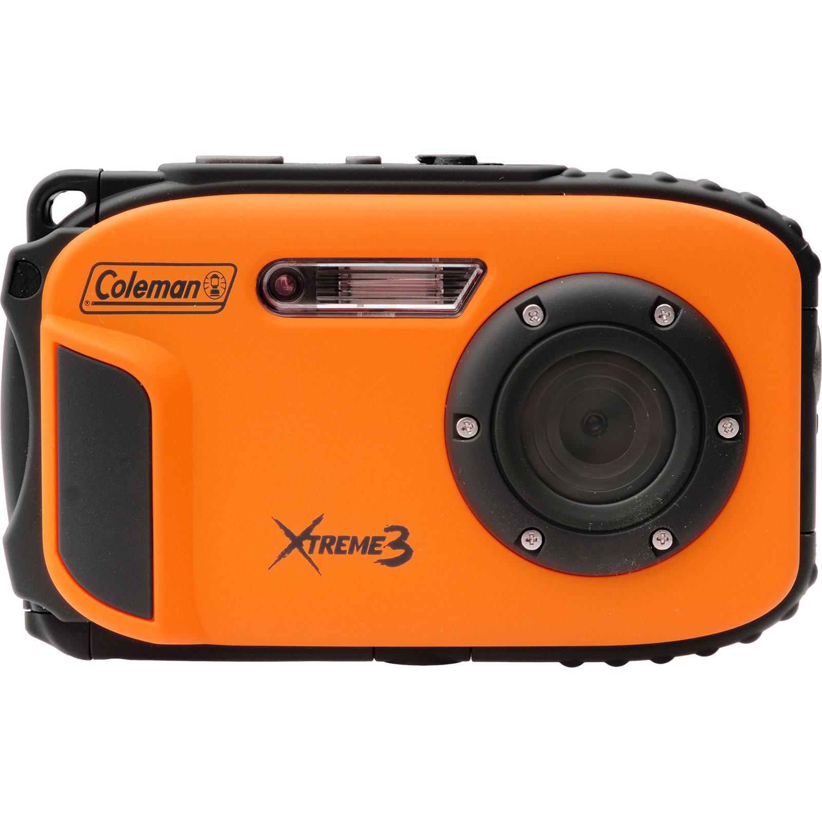 Coleman Xtreme3 C9WP Shock & Waterproof 1080p HD Digital Camera (Orange)