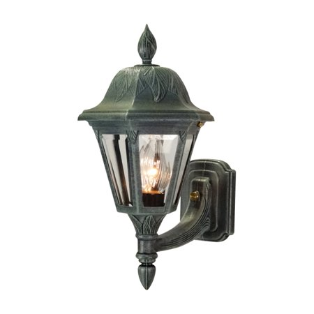 Special Lite Products Floral F-1947 Small Bottom-Mount Outdoor Wall Light