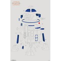 Star Wars Episode VIII The Last Jedi R2-D2 Blowout