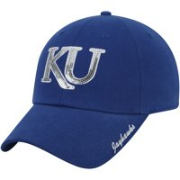 Women's Royal Kansas Jayhawks Sparkle Adjustable Hat - OSFA