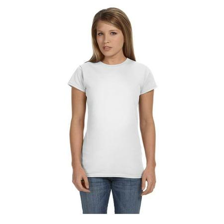 Ashworth Knit Shirt - Gildan Women's Softstyle Preshrunk Jersey Knit T-Shirt, Style G64000L