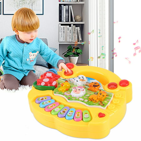 Baby Infant Toddler Kids Musical Piano Developmental Toy Early Educational , Baby Music Toy,Baby Piano Toy ()