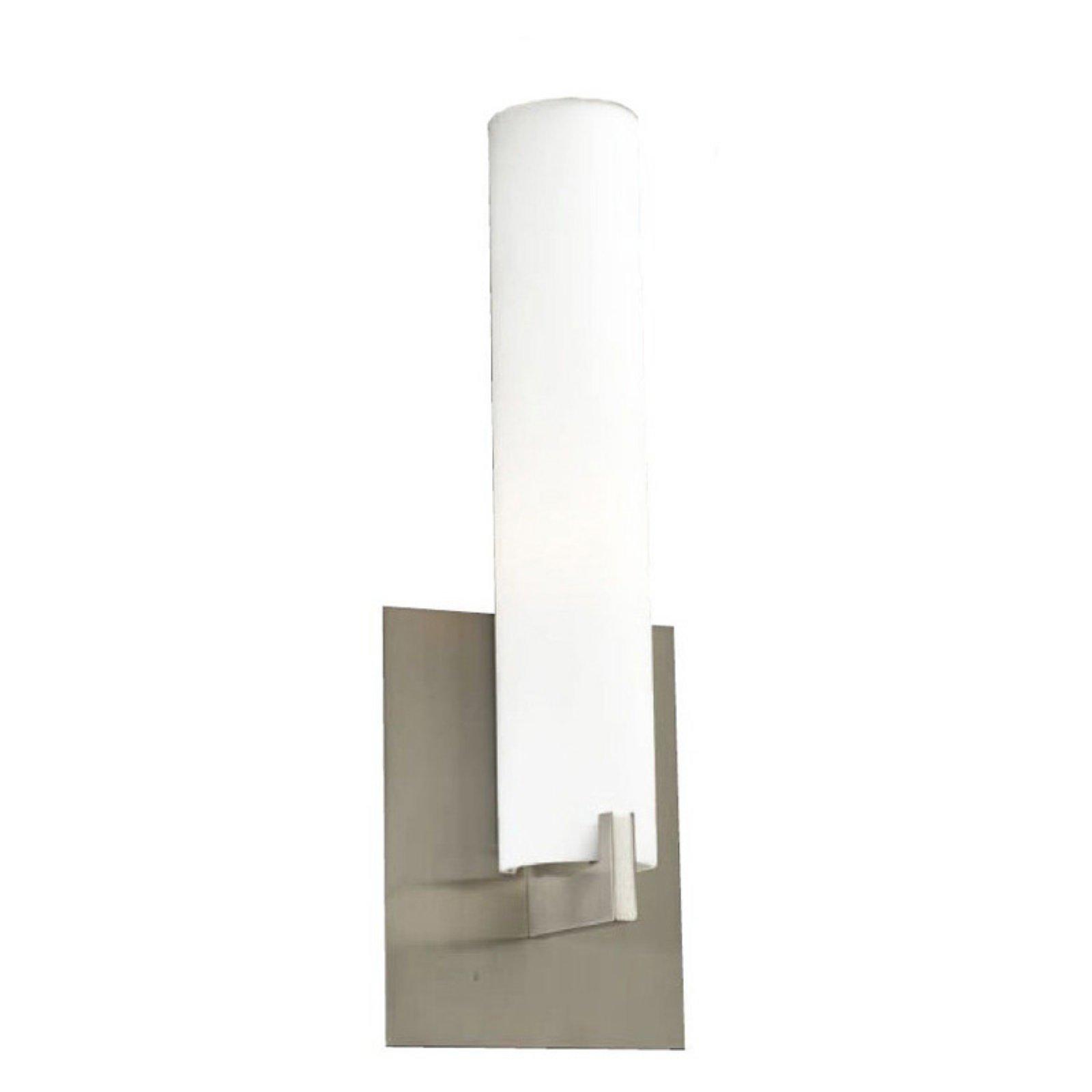 Aleta Collection PLC Lighting 651 SN 1 Light Vanity Satin Nickel Finish